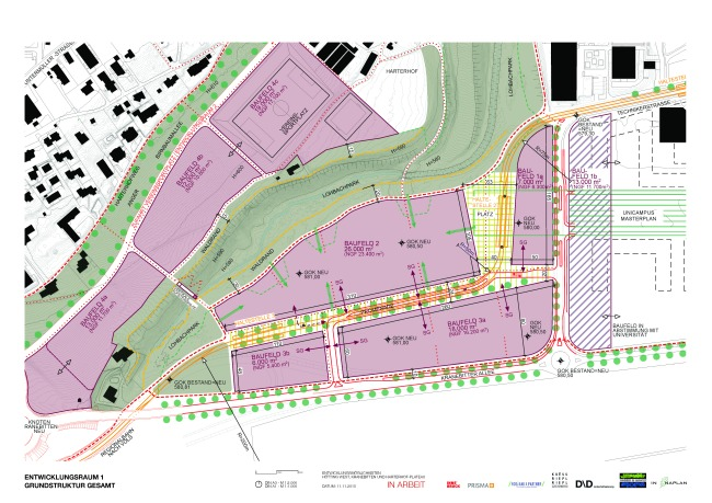 Entwicklungsraum 1 Hötting West Quartiersentwicklung Innsbruck