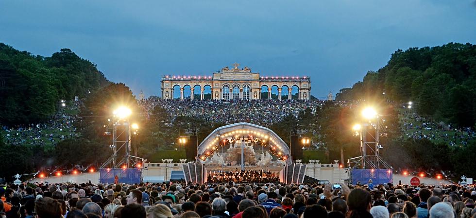 Sommernachtskonzert Schönbrunn in Wien 2015
