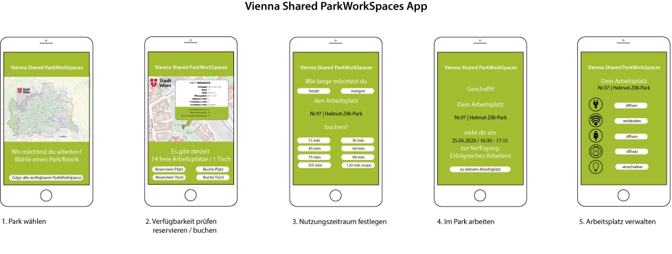 Vienna Shared ParkWorkingSpace App